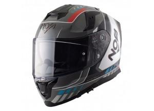 Integral Helm Nos NS10 Mig Rot Blau