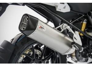 ZBMW523SSR-FC - Auspufftopf Zard Edelstahl Carbon Endkappe BMW R 1250 GS (19)