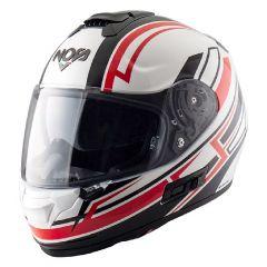 Helmet Full-Face Nos NS7F Adrenaline White