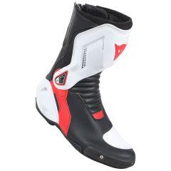Motorradstiefel Dainese Racing Nexus Dainese Boots Schwarz/Weiß/Lava-Rot