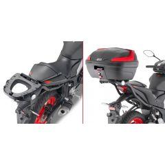 2151FZ - Givi Spezifischer Gepäckträger MONOLOCK Topcase Yamaha MT-03 321 (2020)