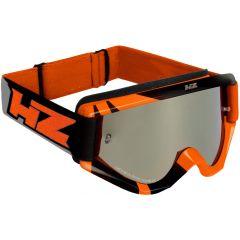 Gafas de Protección Off-Road HZ RAY Anaranjado/Gris OTG Compatible