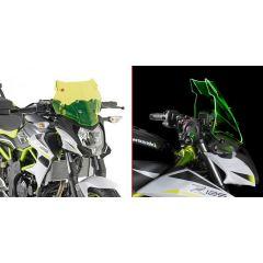 "4125GR - Givi Spezifisches Windschild ""LIME"" 27,5x33,5 cm (H x B) KAWASAKI Z125"