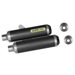 71062DK - SILENCER EXHAUST ARROW CARBON DUCATI MONSTER S4R/S2R 800/1000/S4RS