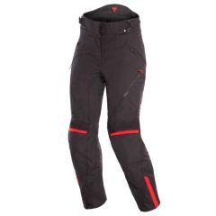 Pantalon Moto Imperméable Dainese Tempest 2 D-Dry Lady Noir Rouge
