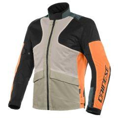 Veste Dainese Moto AIR TOURER TEX Noir Gris Orange