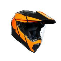 Casque Intégral Agv AX 9 Trail GunMetal Orange