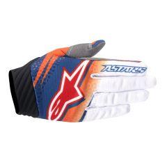 Handschuhe Alpinestars TECHSTAR VENOM Orange/Weiß/Blau