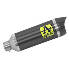71900AKN - Silencieux Echappement Arrow Thunder Alumin Dark YAMAHA MTX 850 Niken