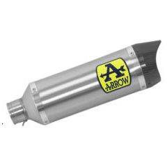 71900AK - Exhaust Muffler Arrow Thunder Aluminum YAMAHA MTX 850 Niken (18-19)