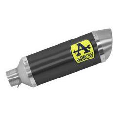71900AON - Exhaust Muffler Arrow Thunder Aluminum Dark YAMAHA MTX 850 Niken