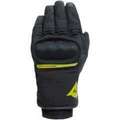 Gants de Moto Dainese AVILA UNISEX D-Dry Noir Jaune-Fluo