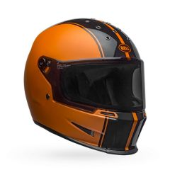 Helmet Full-Face Bell Eliminator Rally Metallic Black Orange
