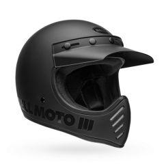 Casco Bell Off-Road Motocross Moto-3 Classic  Blackout