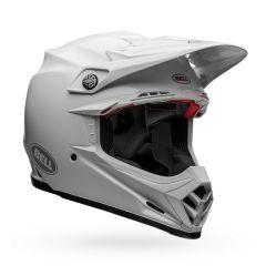 Casque Bell Off-road Motocross Moto-9 Carbon Flex Solid Blanc