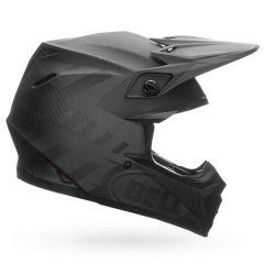 Casque Bell Off-road Motocross Moto-9 Carbon Flex Syndrome Noir Mat