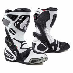 Motorradstiefel Racing Forma Ice Pro Weiß Schwarz
