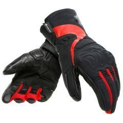Gants de Moto Dainese NEBULA LADY GORE-TEX Noir/Rouge