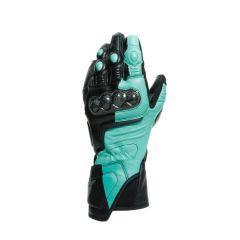 Gants de Moto Dainese CARBON 3 LADY Noir Vert Anthracite