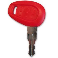 Z661G - Givi Schlüsselrohling mit rotem Griff Rot