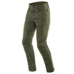 Pantalones Dainese Classic Olive Tex Negro