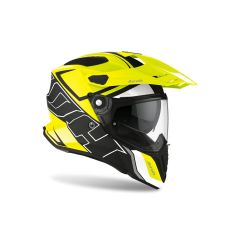 Helmet Full-Face On-Off Airoh Commander Duo Yellow Matt