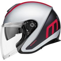 Helm Jet Schuberth M1 Pro Triple Matt Rot