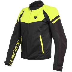 Jacket Dainese Bora Air Tex Black Yellow Fluo