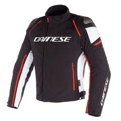 Jacket Dainese D-Dry Racing 3 Waterproof Black/White/Fluo-Red