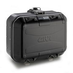 DLM30B - Givi Trekker Dolomiti MONOKEY® case in aluminium, matt black 30 ltr