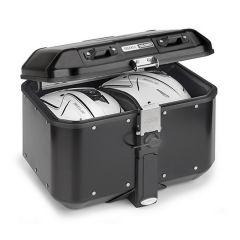 DLM46B - Givi Trekker Dolomiti MONOKEY aluminium top-case matt black painted 46l