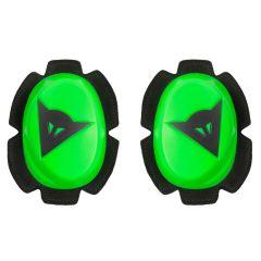 Protección de las Rodillas Dainese PISTA SLIDER Verde-Fluo/Negro