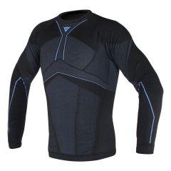 Camisa Técnica Moto Hombre Dainese D-CORE AERO TEE LL Negro/Azul-Cobalto