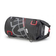 EA114GR - Givi Waterproof roller bag saddle or luggage rack 30 Lt Gray Red