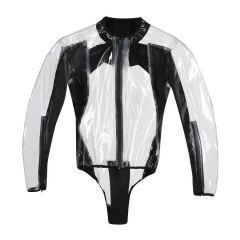 Body Moto Impermeable Dainese Rain Body Racing D1 Negro Transparente