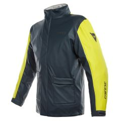 Veste Moto Imperméable Dainese Storm Lady Jacket Antrax Jaune Fluo