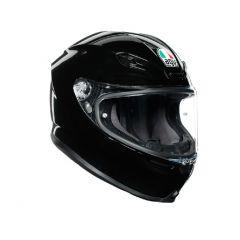 Helmet Full-Face Agv K6 Glossy Black
