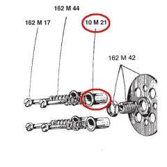 10M21 - Clutch Parts Surflex Shot glass MINARELLI P6 - RF (0-20)
