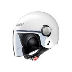 Helmet Mini-Jet Grex G3.1E Kinetic 4 Metal White