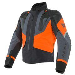 Veste De Moto Homme Dainese Gore-Tex SPORT MASTER Noir Ebony Orange