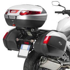 1104FZ - Givi Specific rear rack MONOKEY or MONOLOCK Honda Crossrunner 800