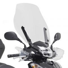 D1143ST - Givi Pare-brise spécifique Honda 51,5x49 cm Honda SH 300i (15 > 16)