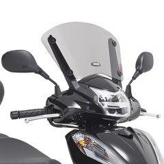D1143S - Givi Bulle basse fumé spécifique Honda SH 300i (15 > 16)
