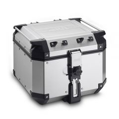 OBKN42A - Givi Trekker Outback natural aluminium top-case, 42 ltr