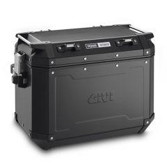 OBKN48BL - Givi Left-side Trekker Outback Black Line side case 48ltr