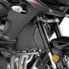 PR4120 - Givi Grille de radiateur acier inox noir Kawasaki Versys 1000 (17)