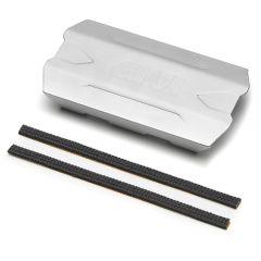 S290S - Givi Universal anodised aluminium heat guard 150mm