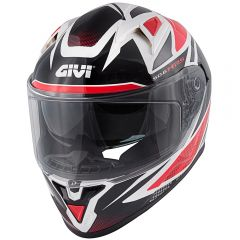 Helmet Full-Face Givi 50.6 Stoccarda Follow Black White Red