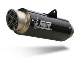 H.072.L2P - Full Exhaust MIVV GPpro Carbon HONDA CB/R 650 R (19-)