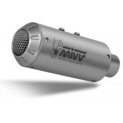 H.075.SM3X - Exhaust Muffler MIVV MK3 Stainless Steel HONDA CB 500 F (19-)